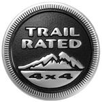 Jeep Trail Rated Badge