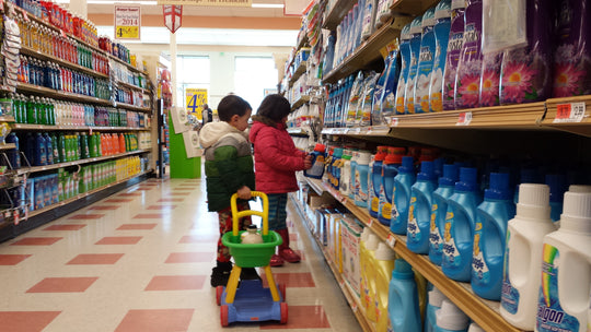 Shopping with children can be unbearable! Unless…