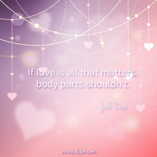 If love is all that matters...