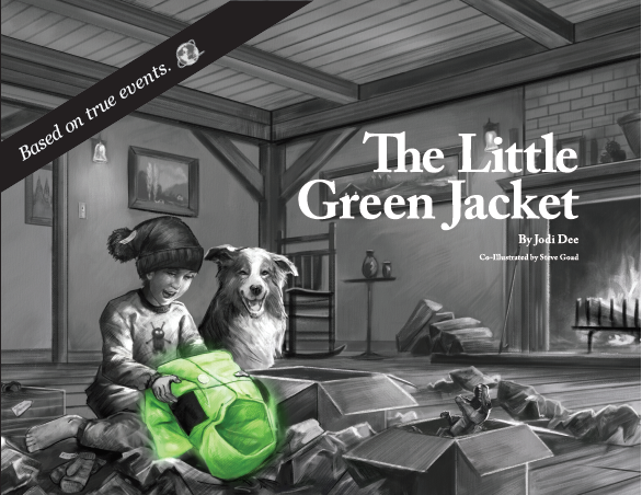 NEW! The Little Green Jacket