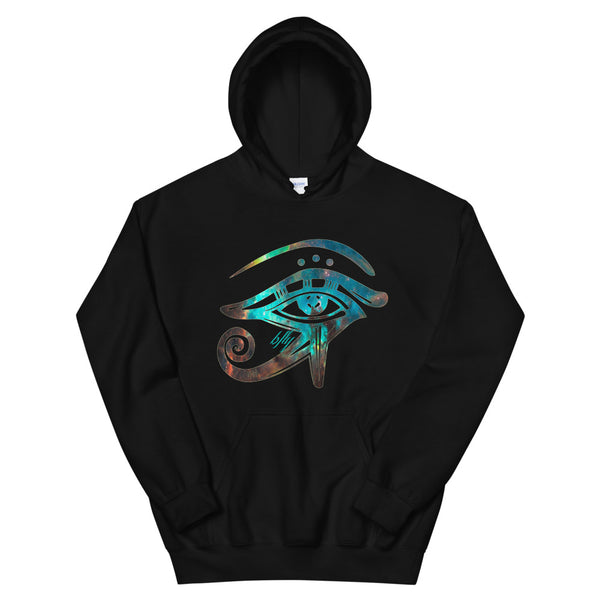 EYE OF HORUS GALAXY HOODIE