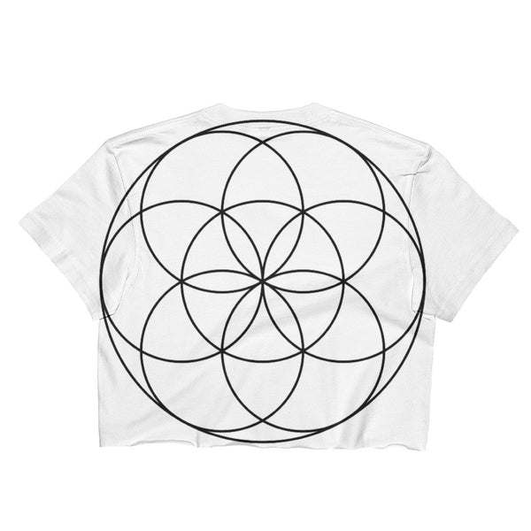 SEED OF LIFE Ladies Crop Top