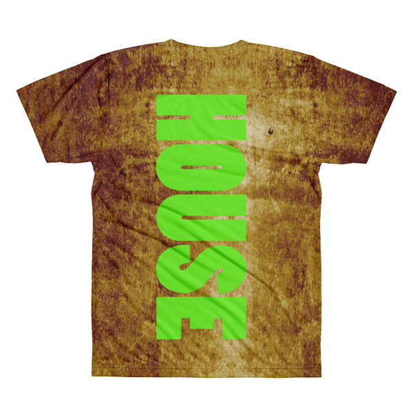 ACID HOUSE NEON DISTRESSED T - BFLY