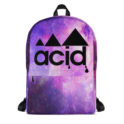 ACID GALAXY PRINT BACKPACK - BFLY