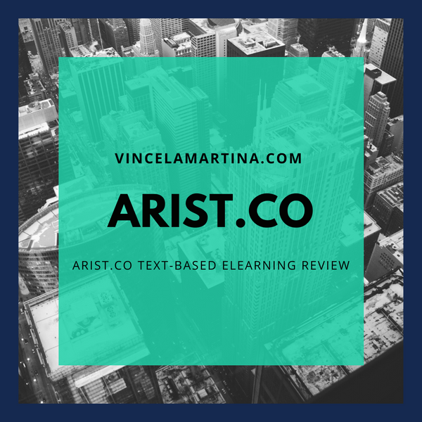 Arist.co Text-Based E-Learning Review