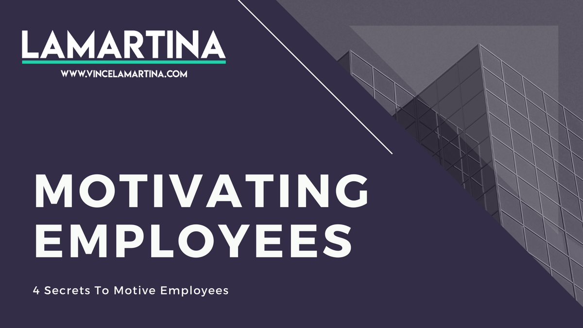 Snackable HR Content About The 4 HR Secrets To Motivating Employees