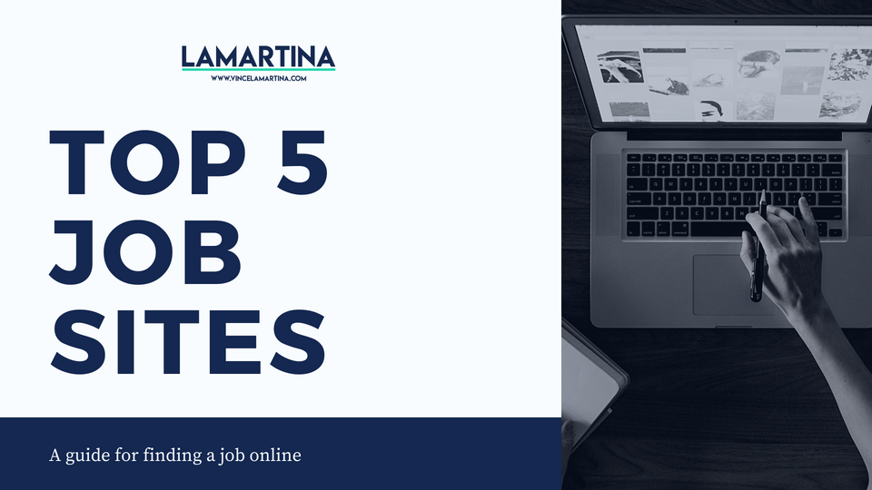 Snackable HR Content About The Top 5 Job Sites eBooklet