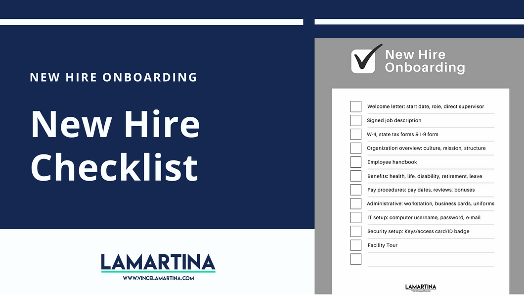 Snackable HR Content About Onboarding A New Hire Using A Checklist