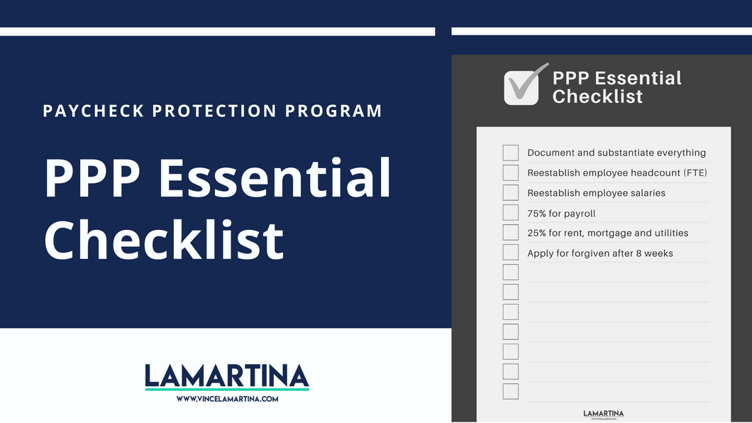 Snackable HR Content About The Paycheck Protection Program (PPP) Essential Checklist
