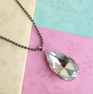 Love as pure as Crystal Necklace