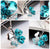 Brilliant Crystal Floral Silver Plated Fabulous Pendant For Women/Girls