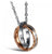 Romantic Eternal Love Promise CZ Stainless Steel Splendid Pendant For Women/Girls