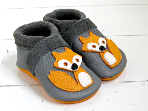 Little Fox - Grey Kinder Feet - 1