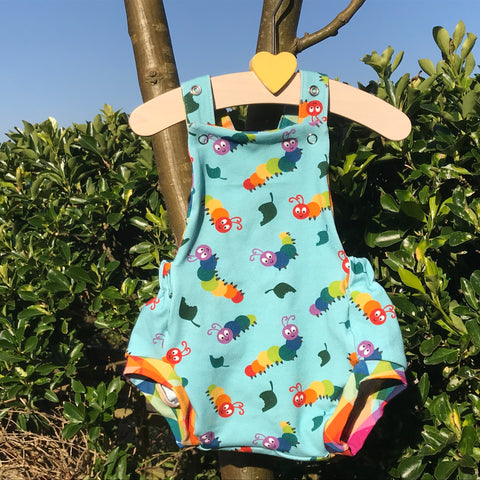 Custom Made Romper - Pick your Own Fabric Combination