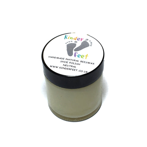 Kinder Feet Beeswax / Shoe Polish - 30ml