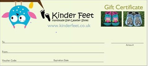Gift Voucher Kinder Feet