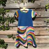 Custom Made Skater Dress - Pick your Own Fabric Combination