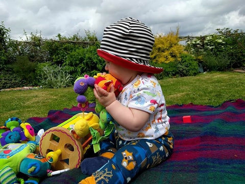 Sun Hat - Available in all Kinder Feet Fabrics