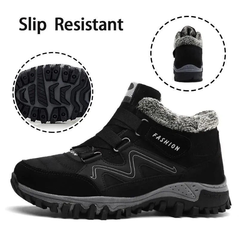 ONFLEEK™ Unisex Winter Thermal Leather Ankle Boots