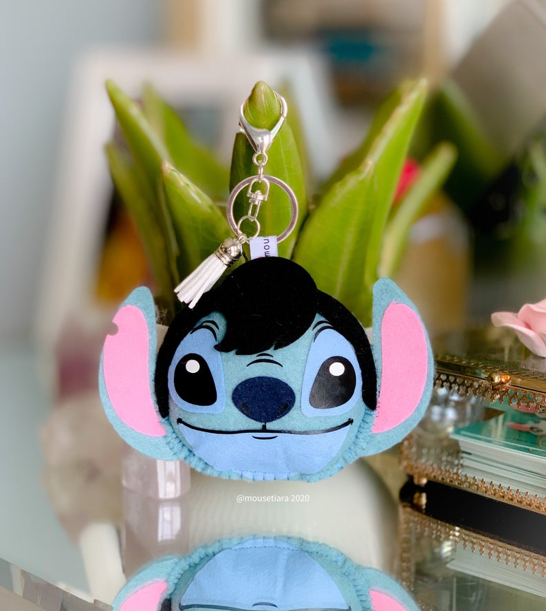 Elvis Alien | Mouse Keychain