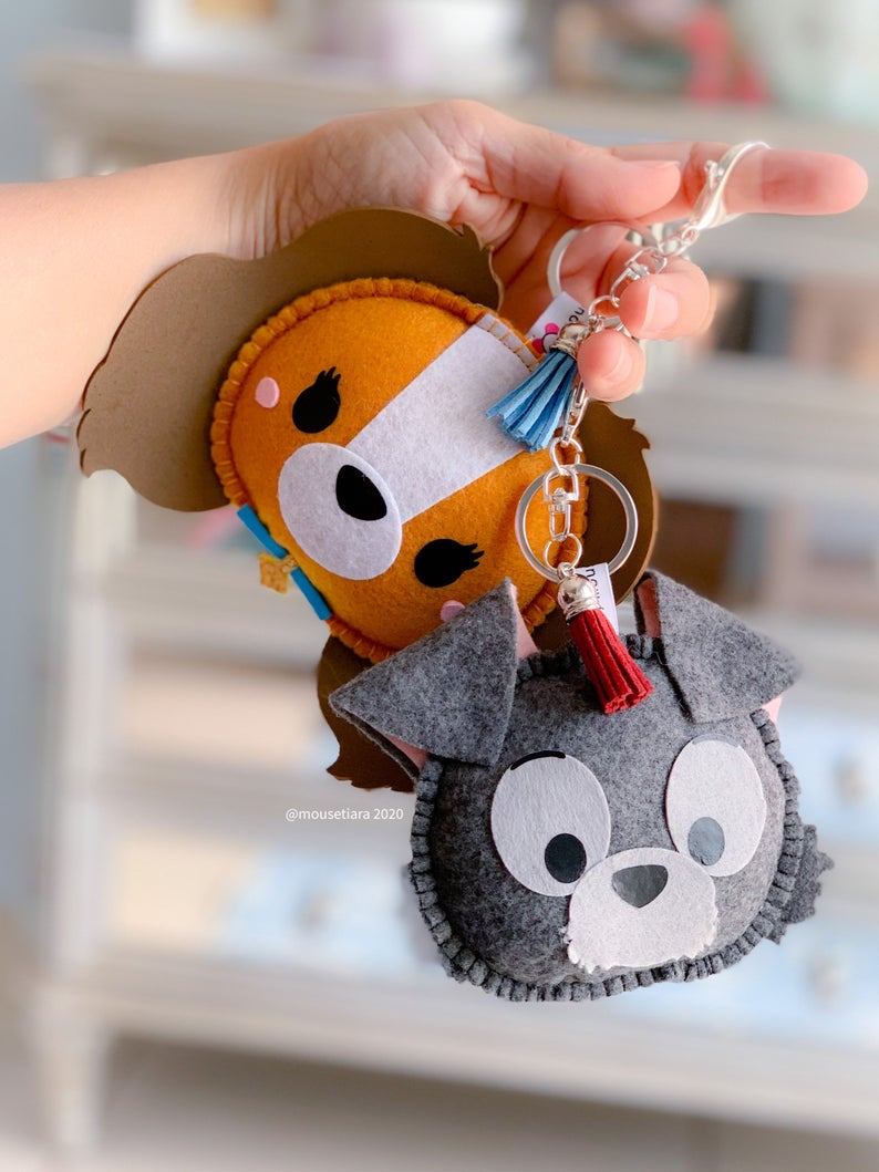 Love Dogs | Mouse Keychain