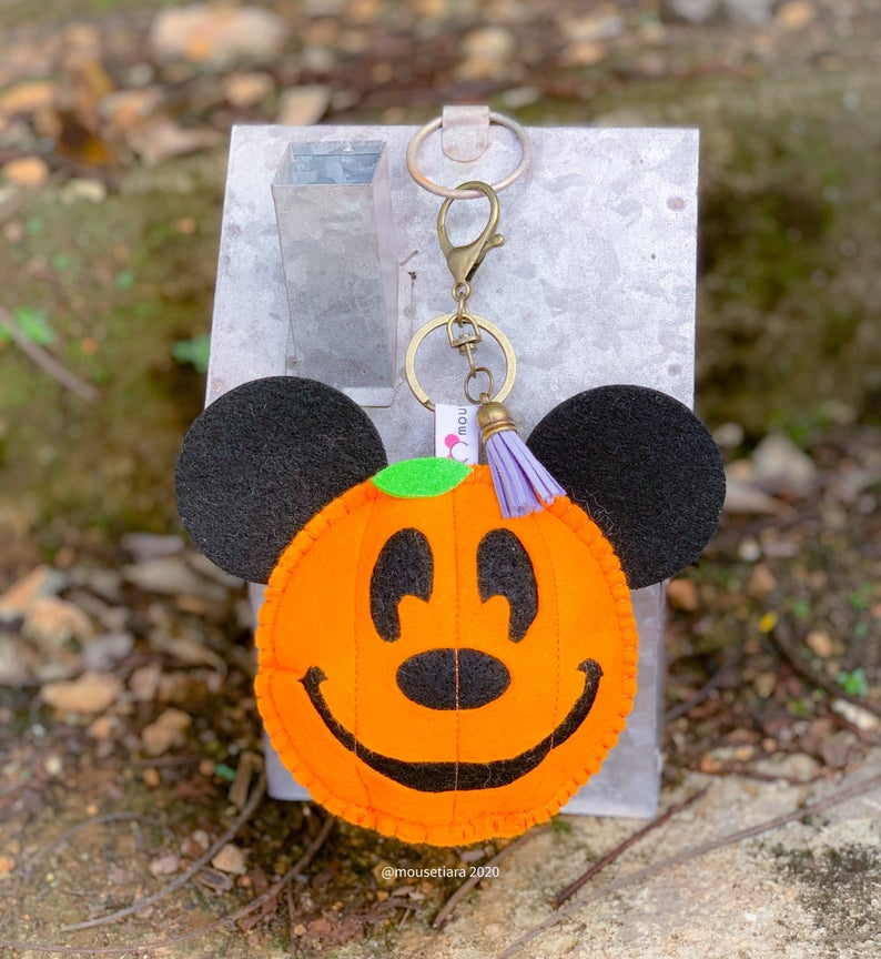 Pumpkin | Mouse Keychain