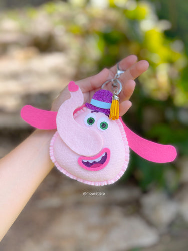 Colorful Elephant | Mouse Keychain