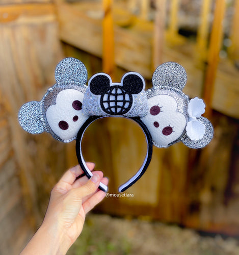 Silver Spaceship earth | Mouse Ears