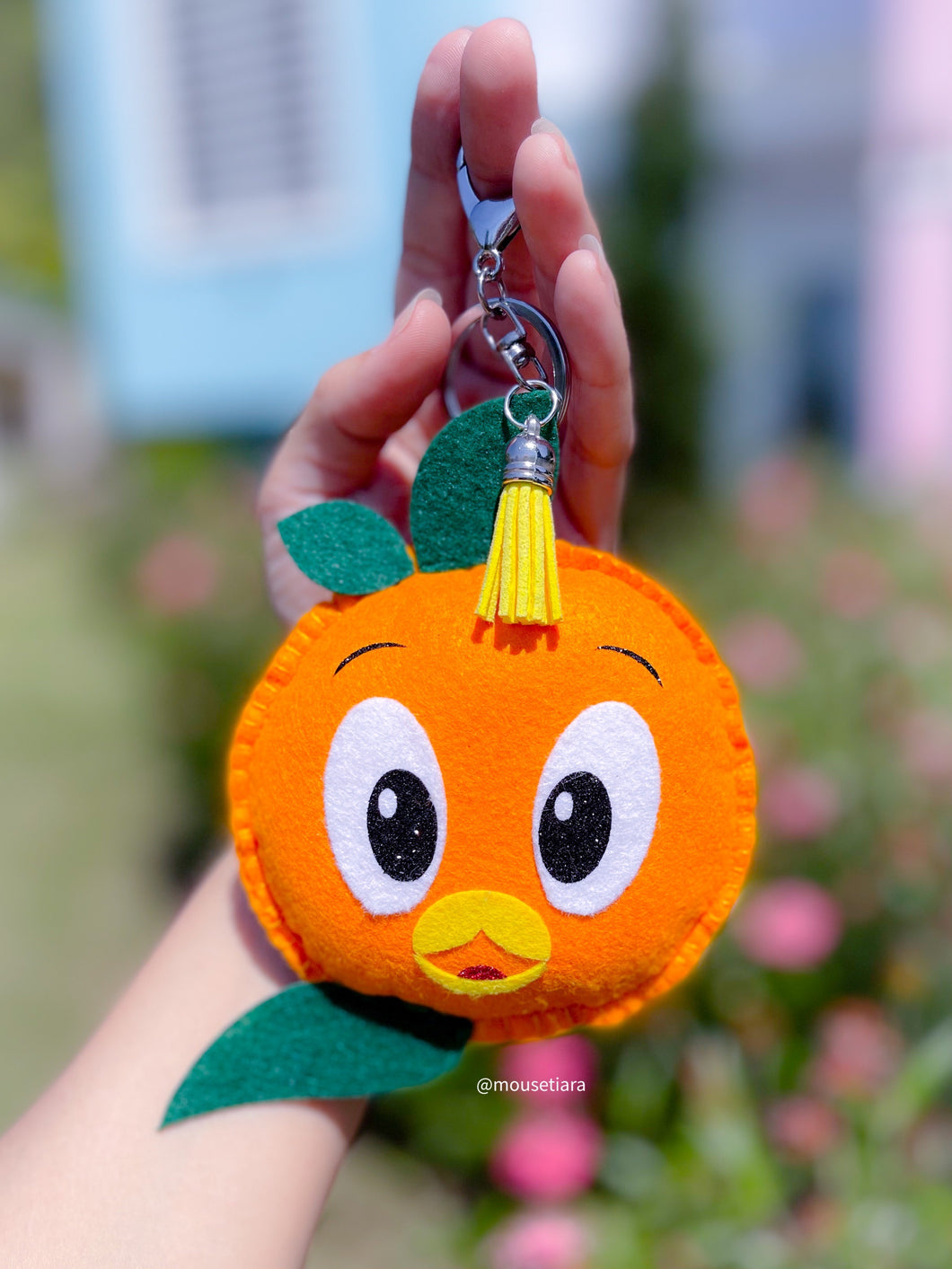 Citrus Bird | Mouse Keychain