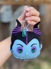 Load image into Gallery viewer, Villains Evil Fairy | Mouse Keychain