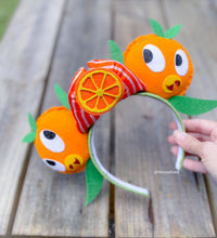 Load image into Gallery viewer, Orange Citrus Bird | Mouse Ears