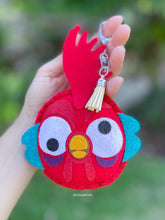 Load image into Gallery viewer, Crazy rooster  | Mouse Keychain