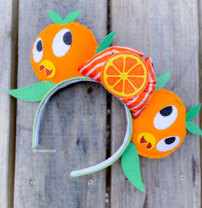 Orange Citrus Bird | Mouse Ears