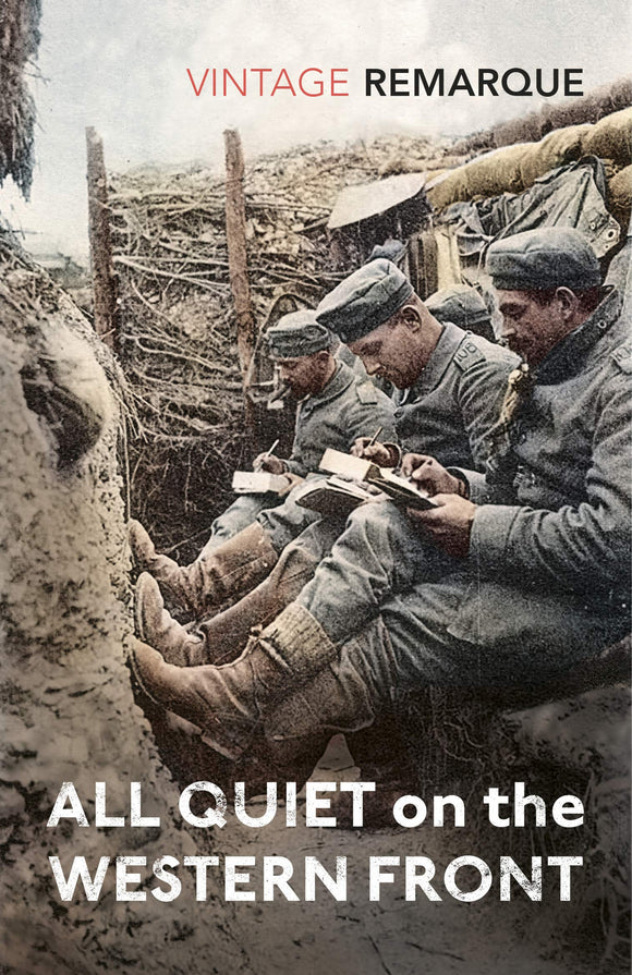 All Quiet On The Western Front; Erich Maria Remarque