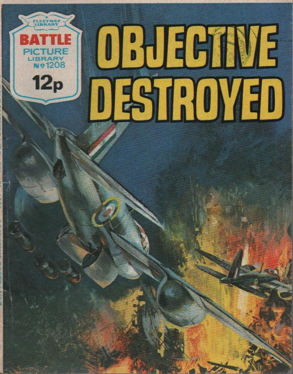Battle Picture Library No. 1208 Objective Destroyed