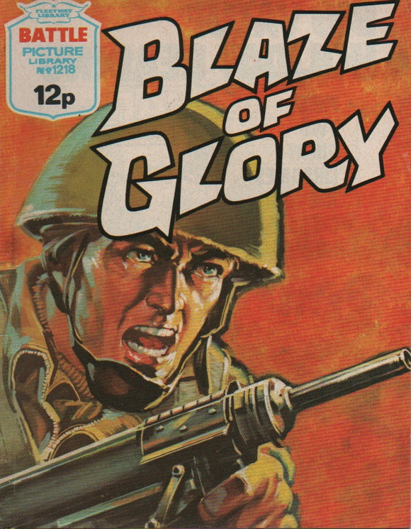 Battle Picture Library No. 1218 Blaze of Glory