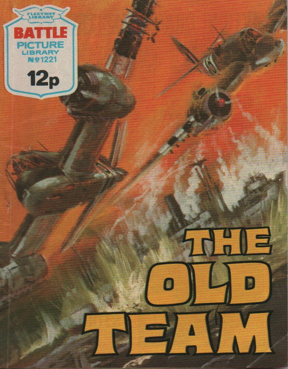 Battle Picture Library No. 1221 The Old Team