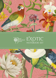 Exotic Notebook; Royal Horticultural Society