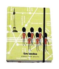 Lisa London Notebook With Pockets