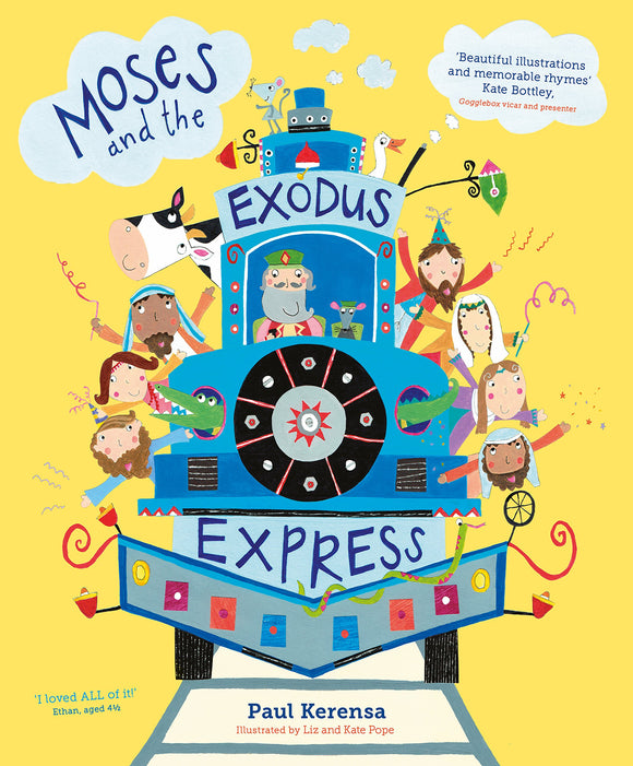 Moses and the Exodus Express; Paul Kerensa