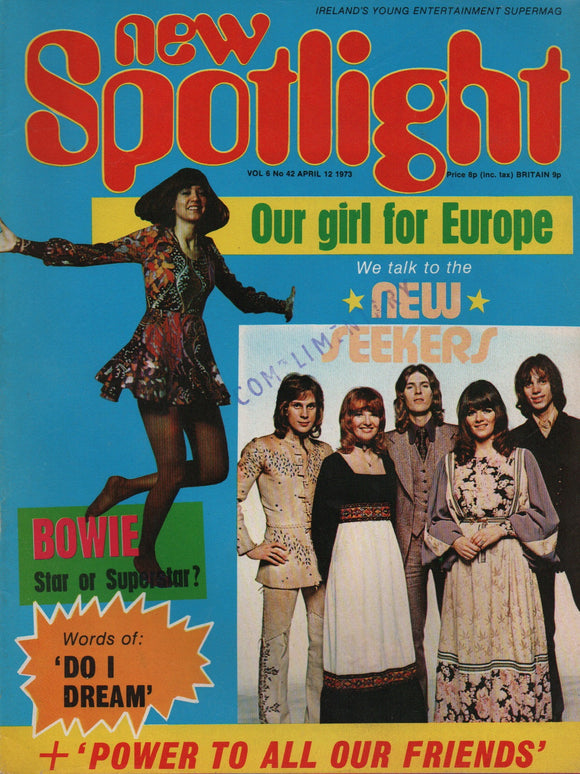 New Spotlight Magazine Vol. 6 No. 42 April 12 1973
