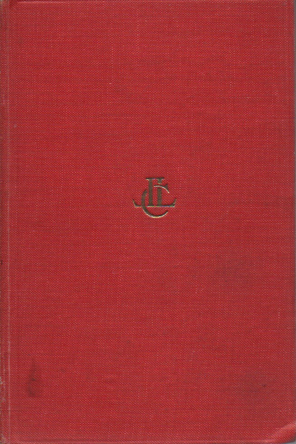 Tacitus, The Histories I - III; Loeb Classical Library, Translated by Clifford H. Moore