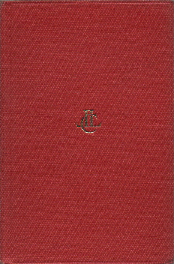 Tacitus, The Histories IV - V & The Annals I - III; Loeb Classical Library, Translated by Clifford H. Moore & J. Jackson