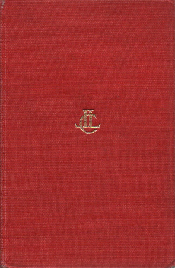 Tacitus, The Annals IV - XII; Loeb Classical Library No. 312, Translated by J. Jackson