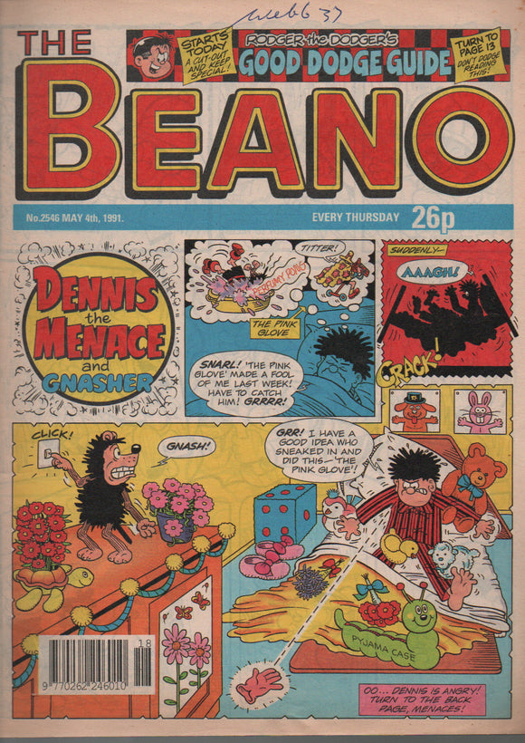The Beano, No. 2546 May 4th 1991
