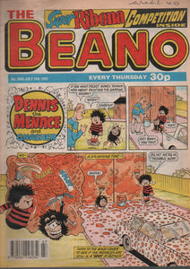 The Beano, No. 2660 July 10th 1993