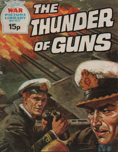 War Picture Library No. 1637 The Thunder of Guns