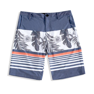 N90-S6168 (Country paradise-steel), Men Submersible Shorts (4-way stretch)