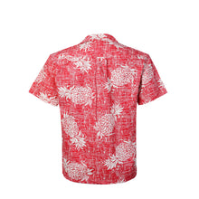 Load image into Gallery viewer, C90-A547 (Vintage red pineapple), Men 100% Cotton Aloha Shirt
