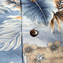 Load image into Gallery viewer, C90-A826 (Aliceblue leaf), Men 100% Cotton Aloha Shirts.